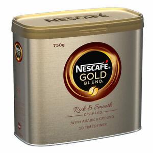 Nescafé Gold Blend Instant Coffee Granules, 750g -Tracked service-