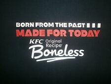 KFC ORIGINAL RECIPE BONELESS T SHIRT Kentucky Fried Chicken Colonel Sanders XL