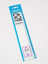 DAVO CRISTAL STROKEN MOUNTS C24 (215 x 28) 25 STK/PCS