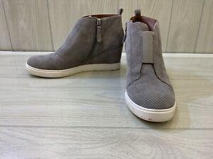 Paolo Felicia Wedge Sneaker, Women's Size 8 M, Grey