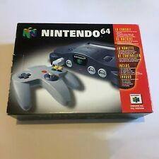 **Boxed** Nintendo 64 NUS-001(EUR) PAL Console - Black with game and controller