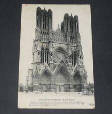 CPA CARTE POSTALE GUERRE 14-18 1915 BATAILLE MARNE CATHEDRALE DE REIMS