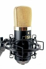 iSK BM-700 Large Diaphragm Studio Condenser Microphone + 6 meter XLR Lead FOC