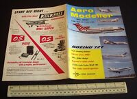 Vintage Aeromodeller Magazine (June 1967). Complete Flying Model Plans Unused.