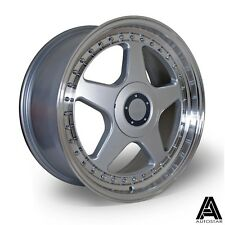 "4 x Autostar five 18"" 5x112 alloys fit VW Transporter T4 Caddy 785kg load rated"