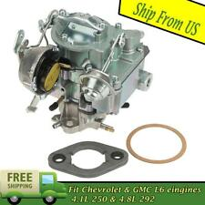 US Carburetor Carb 1 BBL Rochester For Chevy & GMC 250 & 292 W/ Choke Thermostat