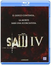 Blu Ray SAW IV (4)  - (2007) Rai Cinema - 01 Distribution ......NUOVO