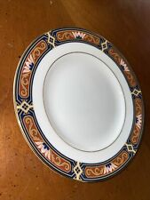 """Wedgwood Chippendale Blue and Rust 6"""" Bread & Butter Plate"""