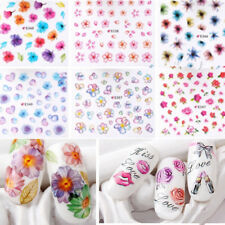GN- 50 Sheets Nail Art Transfer Stickers 3D Decals Manicure Decoration Tips Raki