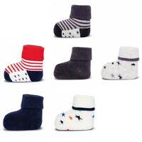 ewers 3er Set Baby-Socken Erstlingssöckchen Sterne Plüsch