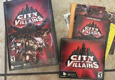 City of Villains (PC, 2005) *** excellent condition*** Vintage Retro T-Teen