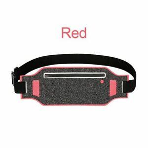 Sports Running Waist Bag Waterproof Phone Bag Outdoor Jogging Belt 6.5 Inch Case