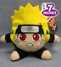7'' Naruto Plush Anime Stuff Ninja Doll Halloween Cosplay Collectibles NAPL0035