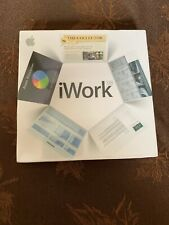 Apple iWork 08 Office Software Suite Mac Presentation Word Process Spread Sheets