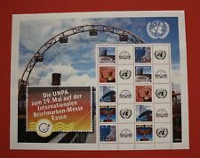 CLEARANCE: United Nations (S27) 2009 ESSEN Personalized sheet
