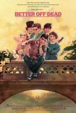 Better Off Dead Movie Poster 11 x 17 John Cusack, David Ogden Stiers, A, Usa New