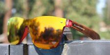 Flow Vision Rythem™ Sunglasses BMX Motocross Mountain Bike: Red/Orange