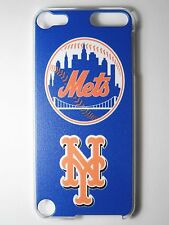 Mlb New York Mets Logo Apple iPod Touch iTouch 5/6th Plastic One-Piece Slim Case