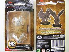 WZK72561 Dungeons & Dragons Nolzur's Marvelous  Unpainted Miniatures Gargoyles