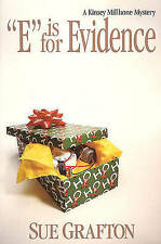 E Is for Evidence by Sue Grafton (Hardback, 1988)