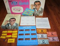 Vintage EYE GUESS Bill Cullen's TV Board Game Complete Milton Bradley 1966