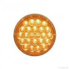 """Truck-Lite Signal Stat 4"""" Round 24 LED Diodes Amber Stop/Turn/Tail"""
