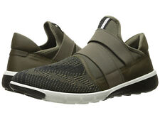Ecco Men's Intrinsic US 13 / EU 47 Tarmac Olive Synthetic Sneakers Shoes  $180.00