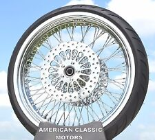 21 x 3.5 80 Spoke Front Wheel 120/70 WWW Tire Package 1984-2007 Harley Touring