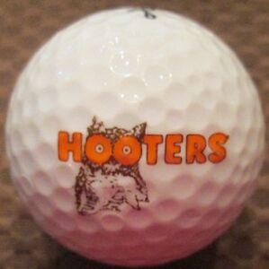 (36) 3 Dozen Hooters Restaurant LOGO Titleist Velocity Mint Used Golf Balls