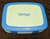 Bentgo Kids Brights Leak-Proof 5 Compartment Bento-Style Kids Lunch Box Blue