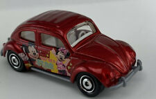 """1998 Matchbox - '62 VW Beetle Red Disney Mickey Minnie Mouse """"You're A Star"""""""