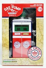 RED CROWN GASOLINE * VINTAGE GAS PUMP COLLECTION GREENLIGHT GREEN MACHINE CHASE