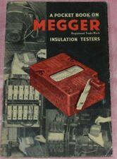 Vintage/Rare Megger - A Pocket Book on Insulation Testing 1953