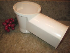 Presto Professional Salad Shooter Replacement Food Chute Model 0297001