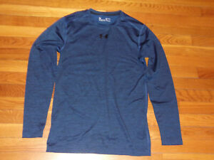 UNDER ARMOUR COLDGEAR LONG SLEEVE FITTED JERSEY MENS SMALL EXCELLENT