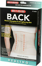 Back Massaging and Strengthing Belt W/ Revolutionary Micro Massager