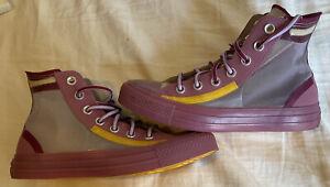 Converse Chuck Taylor All Star Hi 567368C WMN 6 Uk 4 Purple Htf EUC Rare