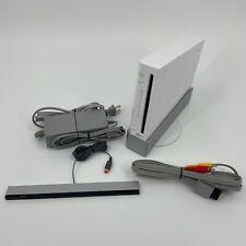 Nintendo Wii Console RVL-001 White GameCube Compatible Game Console FREE SHIP