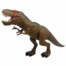 Mighty Megasuar Battery Operated Walking T-Rex- Brown Colour