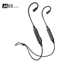 NEW MEE Audio BTX1 Black Bluetooth Universal MMCX Adapter Cable + Qualcomm APTX