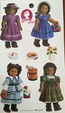 American Girl Doll BeForver Sticker Sheet-Addy Walker Crafts Scrapbooking Fun!