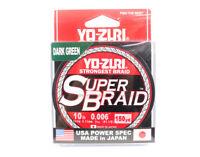 Yo Zuri Duel P.E Línea Super Braid 150YDS 10Lbs (0.15mm) Green R1256-DG