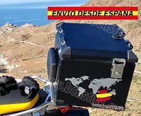Kit 2x pegatinas Maletas Decal Stickers Moto BMW GS Mapa Del Mundo