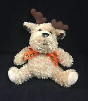 "Reeses Reindeer Moose Plush 6"" Stuffed Animal Toy Galerie Candy & Gift Chocolate"
