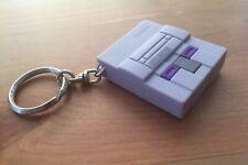 Vtg 1990's Super Nintendo System SNES Mini Electronic Promo Keychain Super Mario