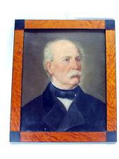 altes PORTRAIT ÖLBILD ÖLGEMÄLDE ALOIS WEGMEIER um 1840 Biedermeier Bayreuth
