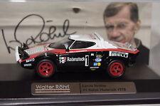 Walter Röhrl Collection Lancia Stratos Hunsrück Rallye 1:43 Ixo neu & OVP CCC205