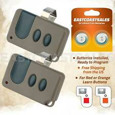 2 For Craftsman Garage Door Opener 3 button Remote HBW1255 139.53681B 390MHz