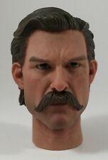 Redman deputy town marshal head sculpt 1/6 toy Cowboy Western