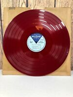 "Muzak Vertical Transcription Matrix 16"" RED Vinyl LP Record X-194 IRVING MILLER"